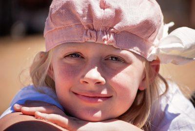 девочка улыбка